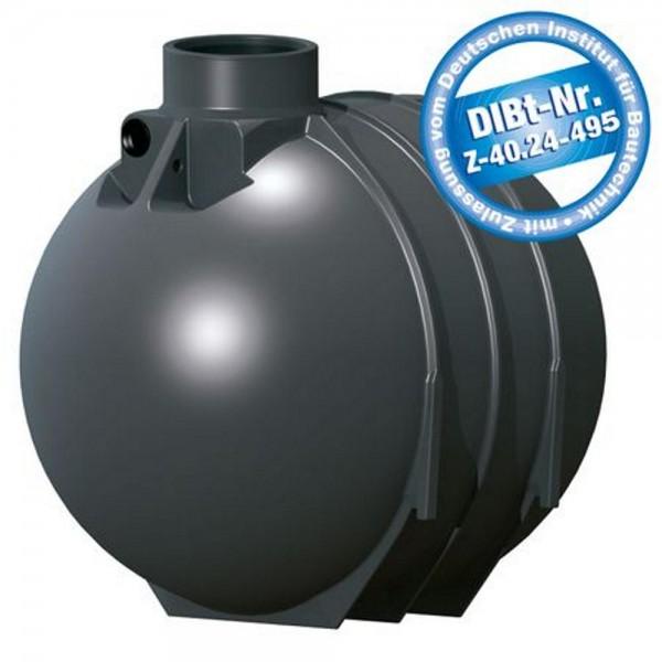 Sammelgrube 5200 Liter BlackLine II DIBt - Zulassung