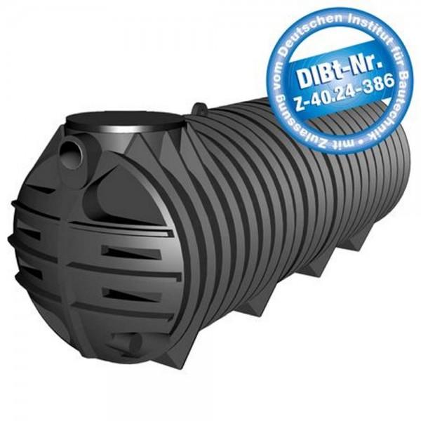 Sammelgrube 3000 Liter Tubus mit DIBt - Zulassung