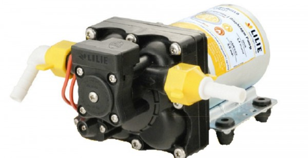 LILIE by SHURflo 24V 10,6 l/min Trailking gelbe Serie Trinkwasser