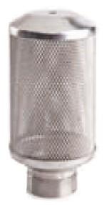 Ansaugfilter Maschenweite 1,2mm Edelstahl Innengewinde 1 Zoll