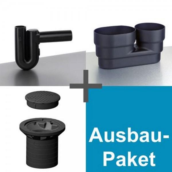 Ausbaupaket Kompakt für Regenwassertank 800 L