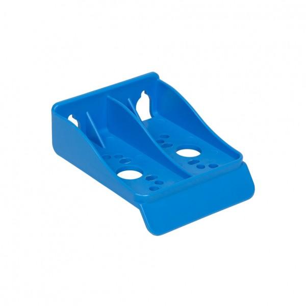 Kunststoff Montagerahmen blau für Filtergehäuse 10'