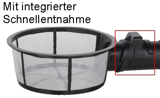 Filterkorb Perfect mit Schnelleinhängung frachtfrei