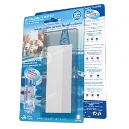 Wassertest 4er Set pH-Wert Chlorgehalt Wasserhärte Eisengehalt