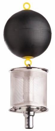 WISY Ansaugfeinfilter SAFF mit Rückschlagventil 1 1/4 Zoll frachtfrei