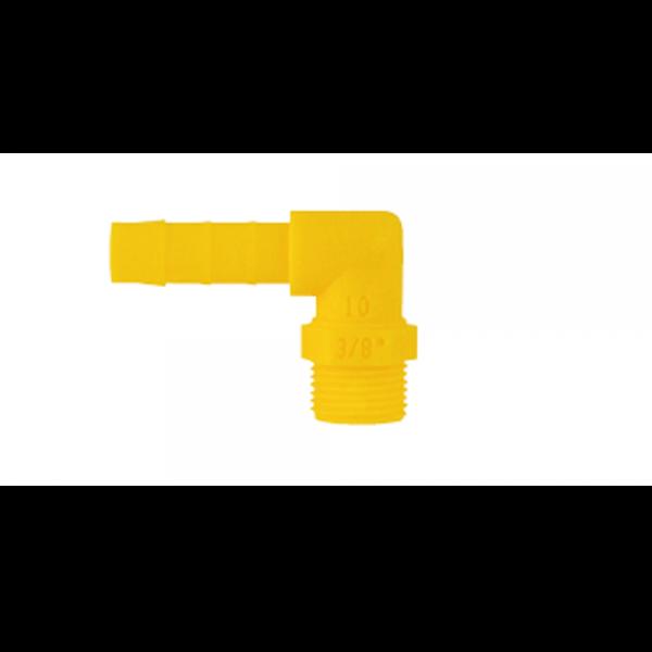 LILIE-Winkel-Einschraubtülle-WeißGelb