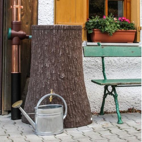 3P Regenspeicher Little Tree 250 Liter dunkelbraun