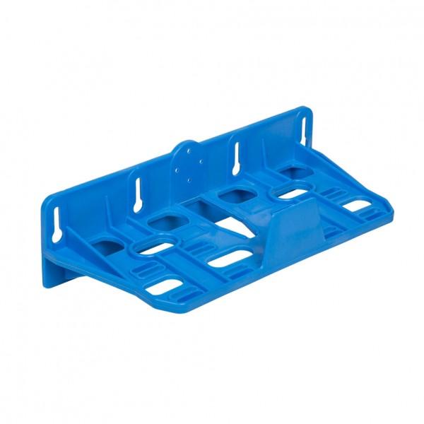 Kunststoff Doppelmontagerahmen blau für Filtergehäuse