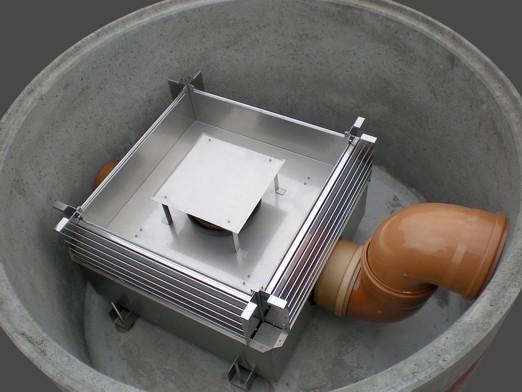Filterschacht VF mit Abdeckplatte DN 2400 H3970