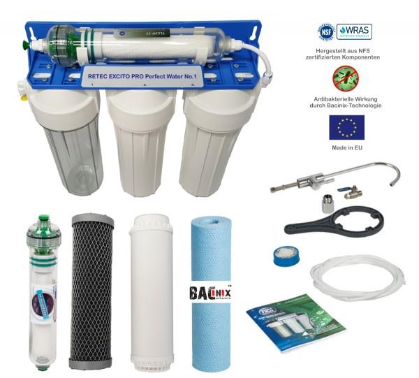 Excito Pro Perfect Water No1 High-Tech Wasserfilter für bestes Trinkwasser