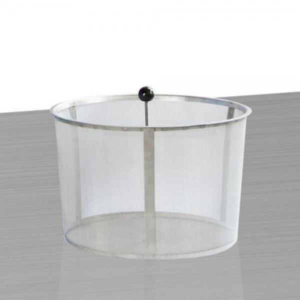 3P Filterkorb Edelstahl Ø 30,5 cm mit Entnahmestange