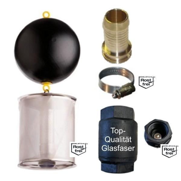 WISY Ansaugfeinfilter SAFF (komplett) 1 Zoll Tauch- u.Kreiselpumpen frachtfrei