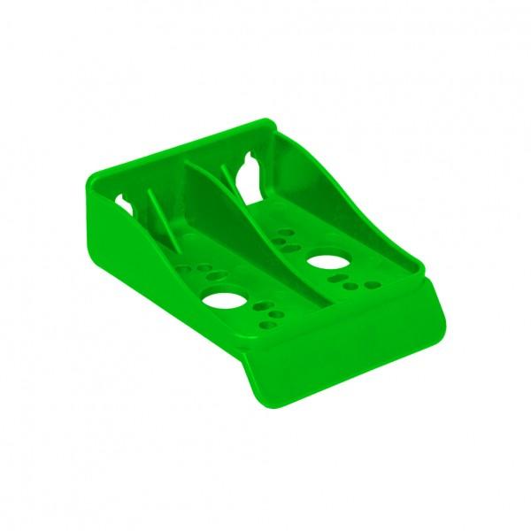 Kunststoff Montagerahmen grün für Filtergehäuse 10'