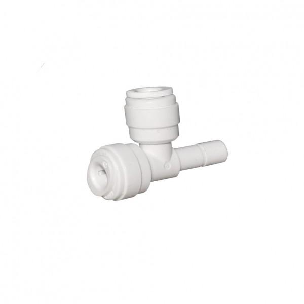 T-Stück 3/8' plug x 3/8' QC tube x 3/8' QC tube