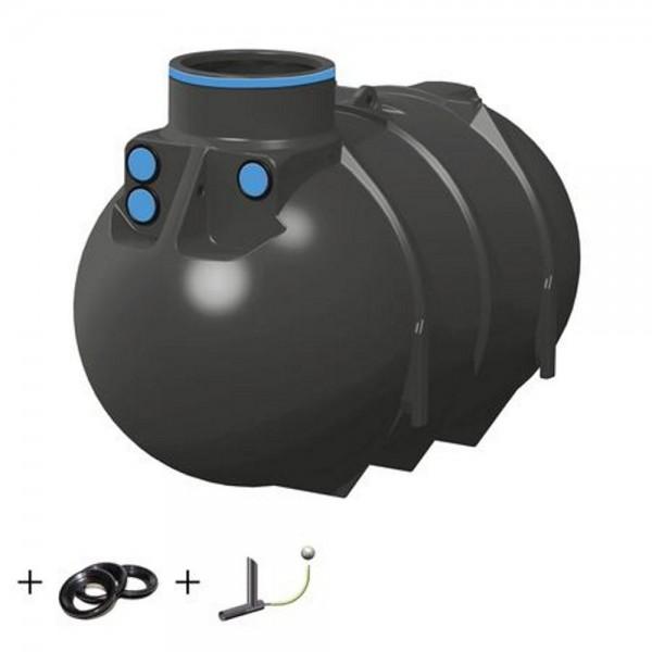 Retentionsspeicher BlueLine 2600 liter mit Drossel