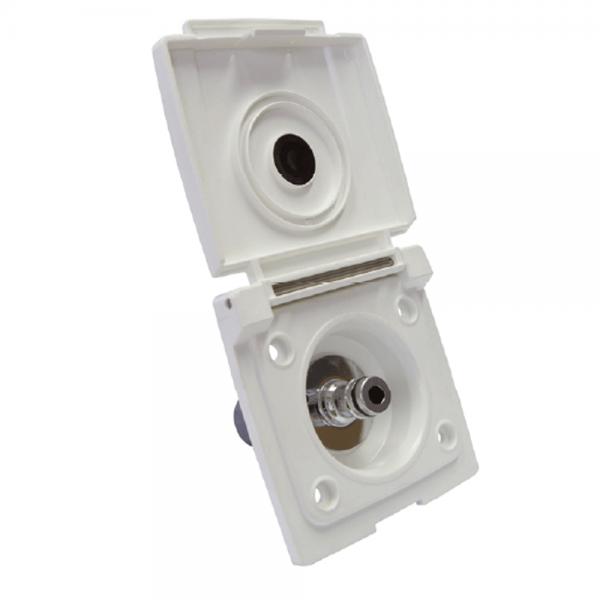 Wasseranschluss/Wassersteckdose mit Druckbegrenzer