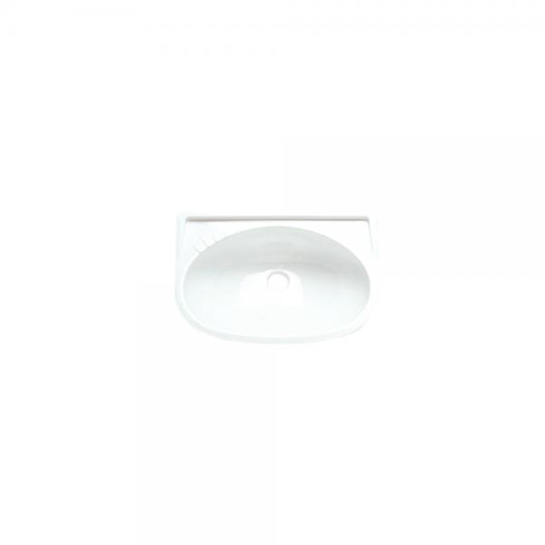 Waschbecken 395 x 275mm weiß