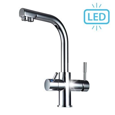 Wasserhahn Sonvita Puro LED 3in1