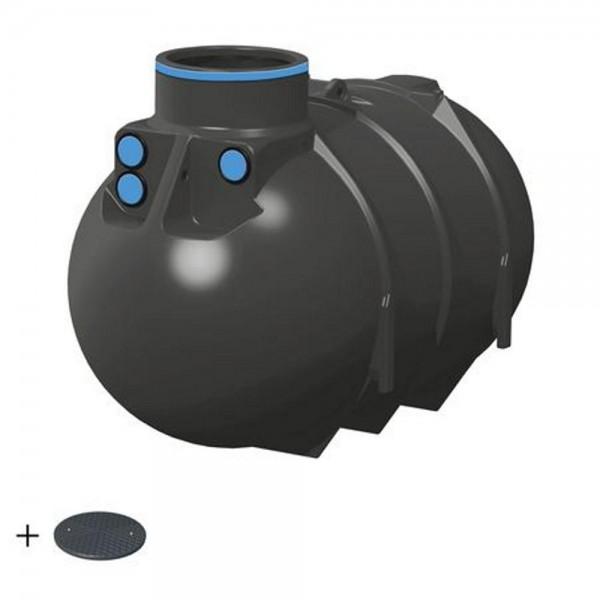 Erdtank BlueLine II 2600 Liter BASIC Deckel TopCover - besonders stabil -
