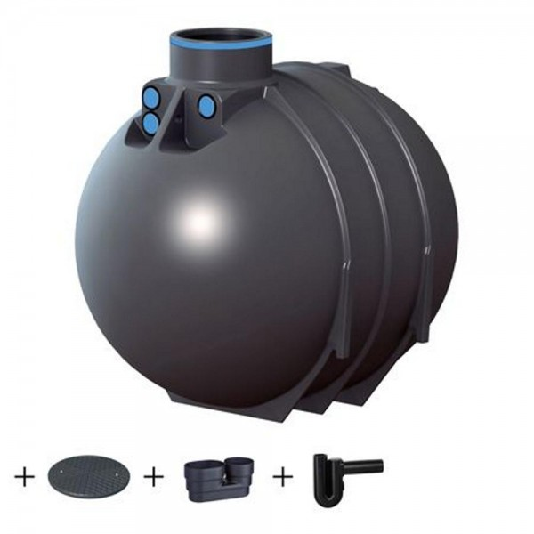 Erdtank BlueLine II 5200 Liter STANDARD