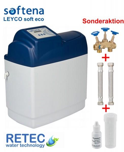 Aktionspaket Enthärtungsanlage Eco 15 Softena LEYCO Soft