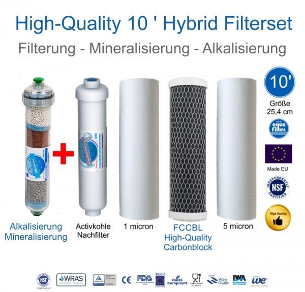 High Quality Hybrid Filterset 10' Filterung Mineralisierung Alkalisierung