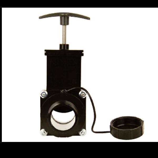 Abwasserschieber 1 1/2 Zoll (38mm)