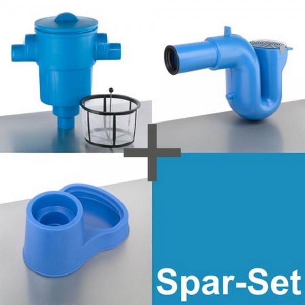 3P Spar-Set GF XL DN 150/200, Abgang senkrecht
