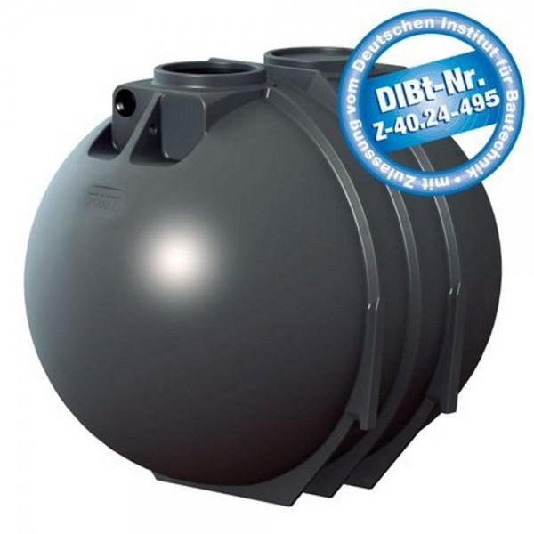 Sammelgrube 7600 Liter BlackLine II DIBt - Zulassung