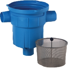 3P Gartenfilter mit Filterkorb