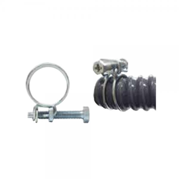 Drahtschlauchklemme für 25mm-Spiralschläuche