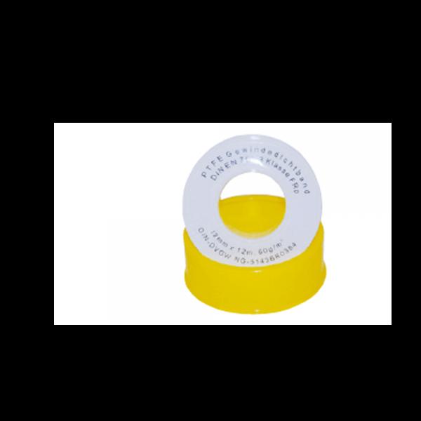PTFE-Gewindedichtband FRp für Feingewinde 12m