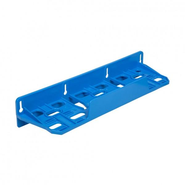 Kunststoff Dreifach-Montagerahmen blau für Filtergehäuse