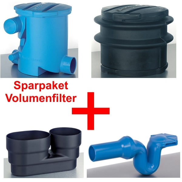 3P Spar-Set Volumenfilter (VF1) frachtfrei