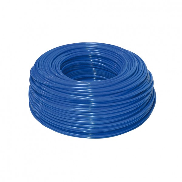 Schlauch blau 3/8' aus Polyethylen pro Meter Rolle