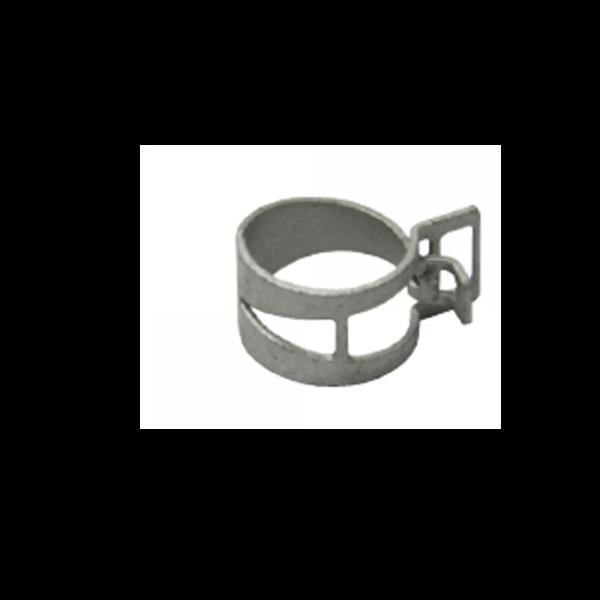 Spezial-Federbandschelle mit Clip Ø16 mm