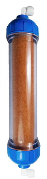 2' Filterkartusche mit Mischbett-Harz für Osmoseanlagen Mehrwegkartusche