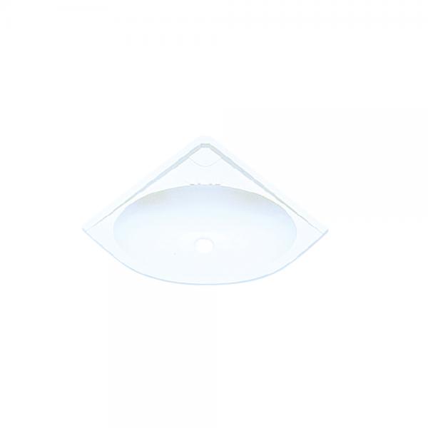 Eckwaschbecken B355 x T115mm weiß