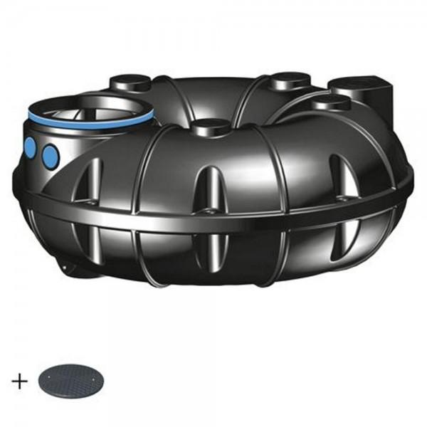 Regenwassertank NEO 1500 Liter BASIC Deckel TopCover 35 Jahre Garantie