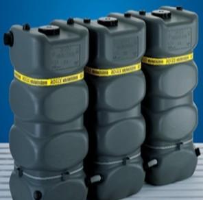 variocistern 1000 L Erweiterungstank 780x780x1900 mm frachtfrei
