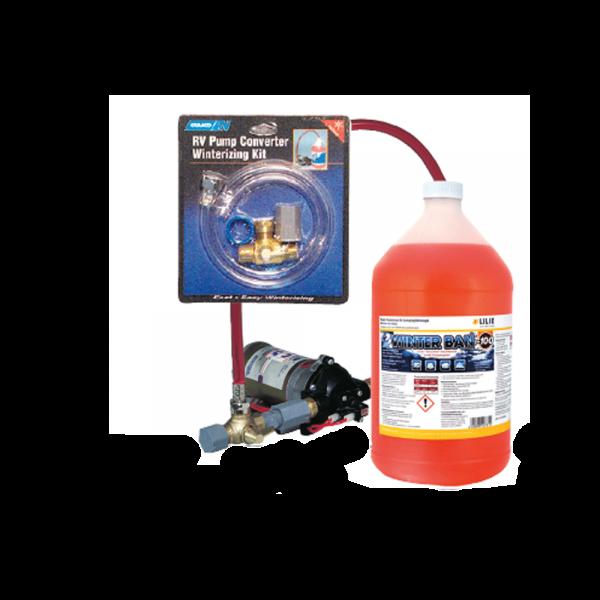 Pumpenwandler-Bausatz für Einwinterung
