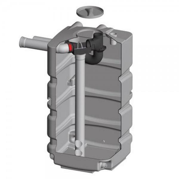 Keller Tank 800 l Basis Filter, Zulauf und Siphon