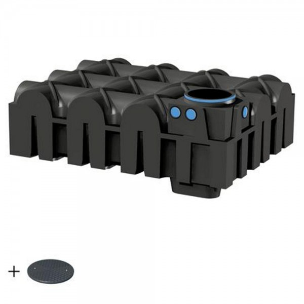 Flachtank F-LINE 5000 Liter BASIC mit Deckel TopCover - das Original -