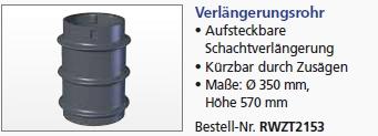 Vorfilter Maxi Verlängerungsrohr