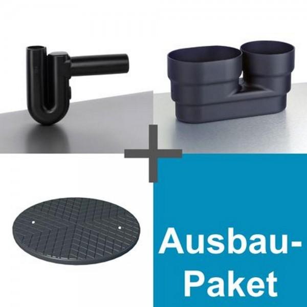 Ausbaupaket Kompakt für Regenwassertank 1500 - 15.000 L