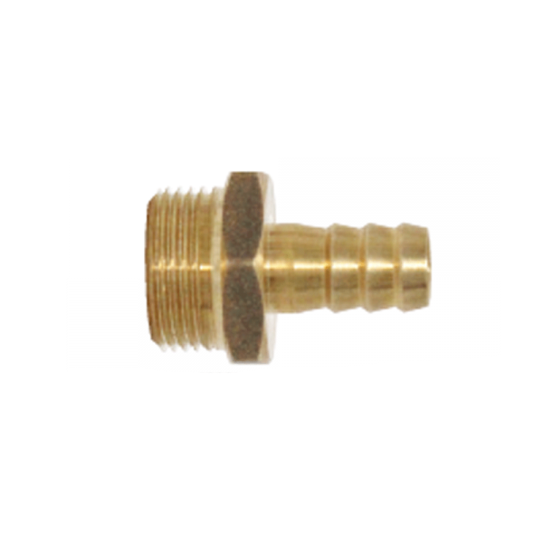 Einschraubtülle, gerade, 3/4' x 12mm
