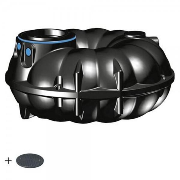 Regenwassertank NEO 3000 Liter BASIC Deckel TopCover 35 Jahre Garantie -