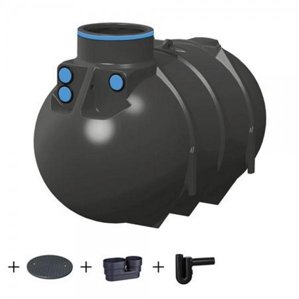 Erdtank BlueLine II 2600 Liter STANDARD