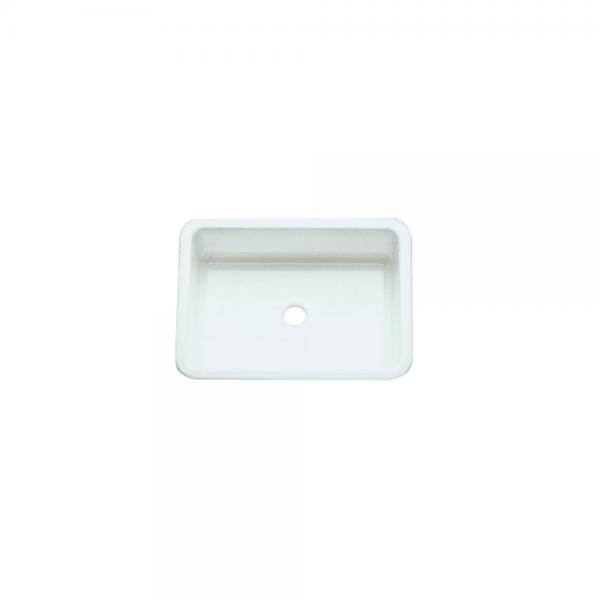 Spülbecken 380 x 280mm weiß