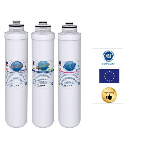 Filterset für EXCITO-OSSMO AIPRO-1M-TW, FCCBL-S-TW, FCCM-TW
